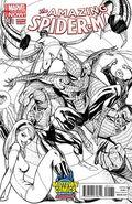Amazing Spider-Man (2014 3rd Series) 1.1MIDTOWNSKETCH