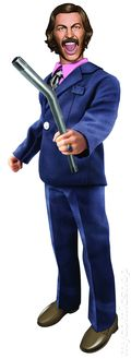 Anchorman 8-in. Battle Ready Figure (2014 BeeLine) ITEM#2