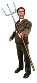 Anchorman 8-in. Battle Ready Figure (2014 BeeLine) ITEM#3