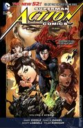 Superman Action Comics HC (2012-2016 DC Comics The New 52) 4-1ST