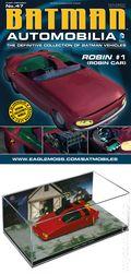 Batman Automobilia: The Definitive Collection of Batman Vehicles (2013 Figurine and Magazine) FIG-47