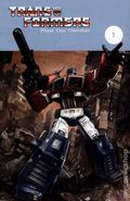 Transformers Phase One Omnibus TPB (2014 IDW) 1-1ST