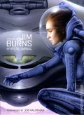 Art of Jim Burns: Hyperluminal HC (2014 Titan Books) 1-1ST