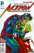 Action Comics (2011 2nd Series) 35B