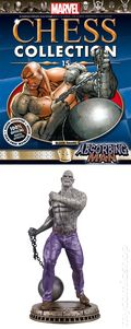 Marvel Chess Collection (2014 Figure and Magazine) ITEM#15