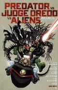 Predator vs. Judge Dredd vs. Aliens HC (2014 Dark Horse) 1-1ST