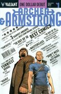 Archer and Armstrong (2012 2nd Series) 1DEBUT