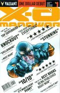 X-O Manowar (2012 3rd Series Valiant) 1DEBUT