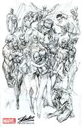 Avengers No. 1 Stan Lee Reprint (2014) 1SKETCH