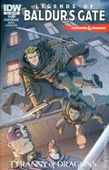Dungeons and Dragons Legends of Baldur's Gate (2014 IDW) 2SUB