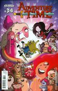 Adventure Time (2012 Kaboom) 34A