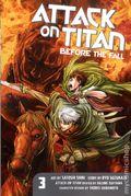 Attack on Titan Before the Fall GN (2014 Kodansha Digest) 3-1ST