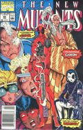 New Mutants (1983 1st Series) Mark Jewelers 98MJ