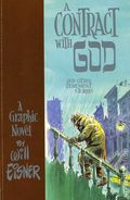 A Contract with God and Other Tenement Stories GN (1985 Kitchen Sink) By Will Eisner 1-1ST