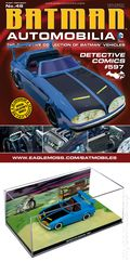 Batman Automobilia: The Definitive Collection of Batman Vehicles (2013 Figurine and Magazine) FIG-48