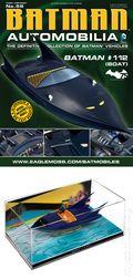 Batman Automobilia: The Definitive Collection of Batman Vehicles (2013 Figurine and Magazine) FIG-56