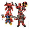 Marvel MiniMates Deadpool Assemble Box Set (2014 ArtAsylum) SET#1