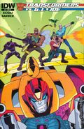 Transformers vs. G.I. Joe (2014 IDW) 5RI