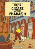 Adventures of Tintin Cigars of the Pharaoh HC (1971 Methuen) Children's Book Edition 1-REP