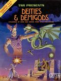 Advanced Dungeons and Dragons Deities and Demigods HC (1980 TSR) 1-1ST