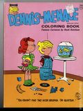 Dennis the Menace Coloring Book SC (1969 Saalfield) Famous Cartoons by Hank Ketcham #5320