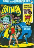Batman Book and Record Set (1975 Power Records/Peter Pan) 27AN