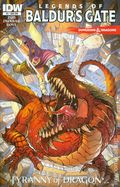Dungeons and Dragons Legends of Baldur's Gate (2014 IDW) 5SUB
