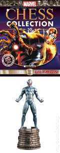 Marvel Chess Collection (2014 Figure and Magazine) ITEM#30