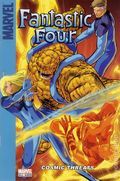 Fantastic Four Cosmic Threats SC (2007 Marvel) A Target Saddle-Stitched Collection 1-1ST