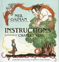 Instructions HC (2010 HarperCollins) By Neil Gaiman and Charles Vess 1-REP
