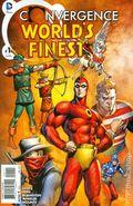 Convergence Worlds Finest Comics (2015 DC) 1A