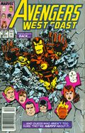 Avengers West Coast (1985) Mark Jewelers 51MJ