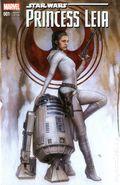 Star Wars Princess Leia (2015 Marvel) 1EMERALD