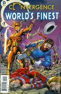 Convergence Worlds Finest Comics (2015 DC) 2A