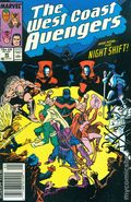 Avengers West Coast (1985) Mark Jewelers 40MJ