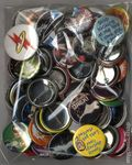 MyComicShop Grab Bag: Buttons (2015) Bag of 75 BAG#1