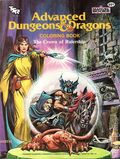 Advanced Dungeons and Dragons The Crown of Rulership Coloring Book SC (1983 TSR/Marvel) 1-1ST