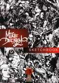 Mike Deodato, Jr. Sketchbook HC (2015 Red Giant) Deluxe Edition 1-1ST