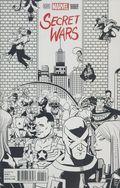 Secret Wars (2015 3rd Series) 1J-SKETCH