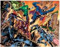 Justice League of America Poster by Bryan Hitch (2015 DC) ITEM#1