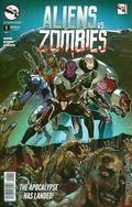 Aliens vs. Zombies (2015 Zenescope) 1A