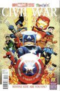 Civil War (2015 Marvel) Secret Wars 1SDCC