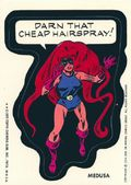 Topps Marvel Comic Book Heroes Sticker Trading Cards (1975) MEDUSA