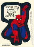 Topps Marvel Comic Book Heroes Sticker Trading Cards (1975) SPIDERMAN-1