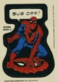 Topps Marvel Comic Book Heroes Sticker Trading Cards (1975) SPIDERMAN-2B