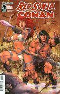 Red Sonja Conan (2015 Dynamite) 1B