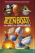 Teen Boat The Race for Boatlantis HC (2015 Clarion Books) 1-1ST