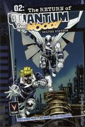 Q2 The Return of Quantum and Woody HC (2015 Valiant) Deluxe Edition 1-1ST