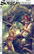 Swords of Sorrow Red Sonja Jungle Girl (2015 Dynamite) 2A