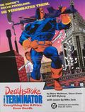 Deathstroke the Terminator Promotional Poster (1991 DC Comics) 1